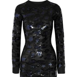 SIBLING Sequined Dress  Size Small